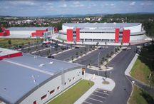 KV Arena / KV Arena Výstavní, sportovně kulturní a kongresové centrum Karlovy Vary  KV Arena - Exhibition, Sports-Cultural and Congress Centre in Karlovy Vary