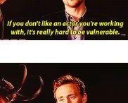 Cutest bromance ❤️ / Chris Hemsworth and Tom Hiddleston