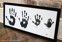 Handprints baby
