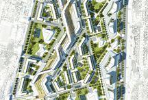social housing-urban planning