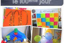 100e jour école