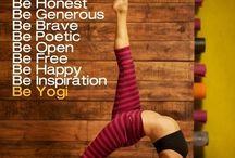 joga / Yoga sequences, inspiration