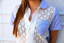 sewing inspiration: tops / by Amy Stevens