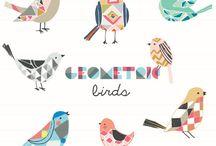 Dibujos de Animales / Ilustración de animales por diferentes autores