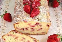 plumcake di ricotta e fragole
