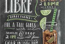table cuba libre