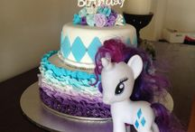 Rarity themed birthday party