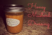 Dressings, Dips, Sauces & Spreads / Homemade dressing, dip and spread recipes.