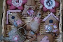 игрушки-шитье кофейные