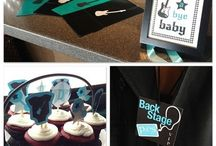Lynsi and Sean's shower / Rock a bye baby shower