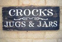 Crocks, Jugs & Jars