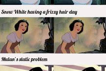 Disney princess humour