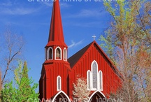 CHURCHES / by Julie Alexander