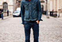 Denim jackets / by Jon B.⚓