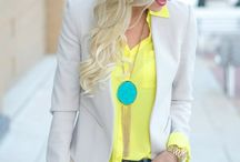 Inspiration:Yellow / Outfit ideas