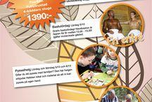 Helgerbjudanden 2013 / Det händer något varje helg på Hafsten. Här samlar jag alla helgerbjudanden som har gjorts under höst och vinter 2013.