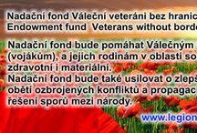 Nadační fond, Endowment fund / Nadační fond Váleční veteráni bez hranic. Endowment fund War veterans without borders.