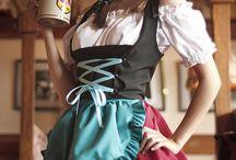 世界の民族衣装 女性編
