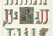 Graphics - Alphabet / by De Jay