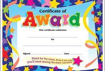 kindy certificates