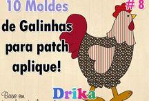 moldes gallinas