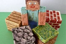 plastic canvas crafts / by tina fry