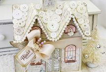casitas decoupage