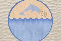 Round Beach Towels / Round Beach Towels