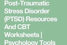 Post traumatic stress disorder fact sheets