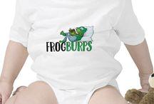Frogburps Merchandise / Frogburps.com children's books merchandise
