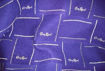 Crown Royal bag quilts / Quilt made out of crown Royal bags