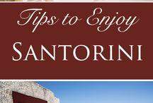 Santorini / The Greek Island of Santorini