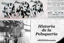 Historia de la peluquería #RIZOStelocuenta