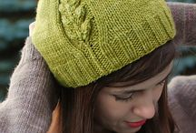 knitted hat patterns / knitting patterns hat patterns