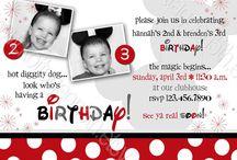 kiddos birthdays / by Nikki Cercy