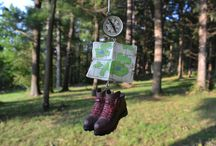 Camping Ornaments / #camp #outdoors #hiking #ornaments #nature / by Personalized Ornaments for You