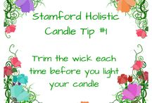 How To Get The Best From Your Candle / A few simple candle tips from Stamford Holistic Candles to allow you to get the most out of your candles