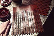 Morgan Rhea / Bespoke handmade leather accessories  / by Morgan Richards