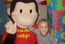 Character Visits / Images from our literacy Outreach Programs.