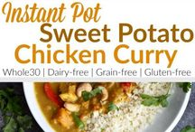 curry with sweet potatoes