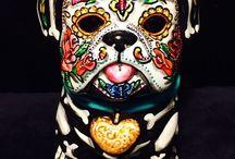 Calaveras / Mexican skulls - Dia de los muertos - Katrina