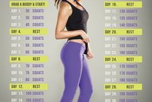 Leg and butt workouts