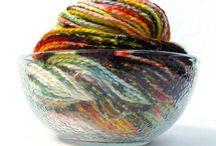 Dying yarn