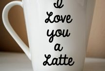 Coffee shop mugs
