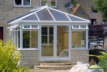 Northleach 1999 / This is an excellent example of how we can match stone to existing brickwork so that the conservatory blends in with the rest of the house.