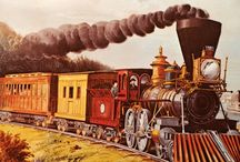 Old Trains / Trains from the 1800's - 1960's