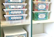 Classroom organisation and decoration