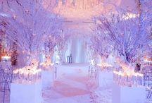 Icy wedding ideas
