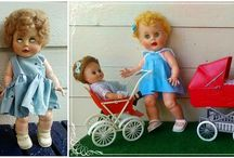 Dolls makeover, before & after
