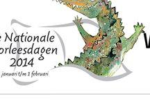 nationale voorleesdagen / van 22 januari tot 2 februari is  er in Nederland veel aandacht voor voorlezen aan jonge kinderen.